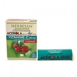 Acérola-Gogi Herbesan 30 comprimés
