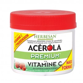 Acerola premium Herbesan 90 comprimés