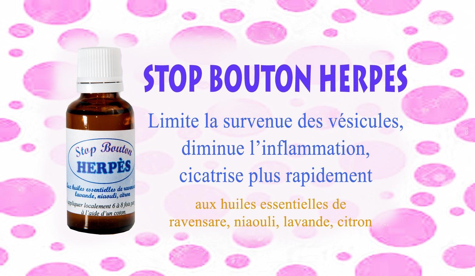 Traitement de l'herpès par les huiles essentielles